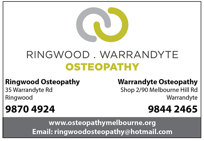 warrandyte ringwood osteopathy